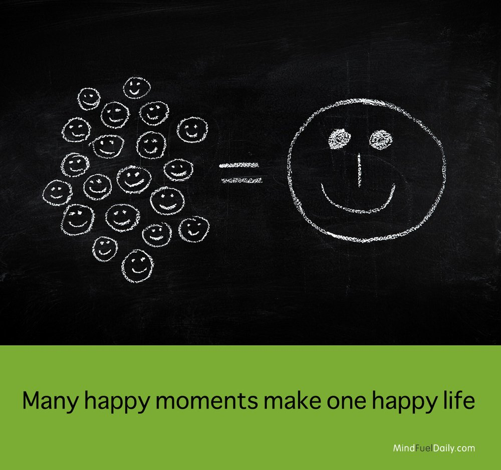 Small Joys = One Big Happy Life