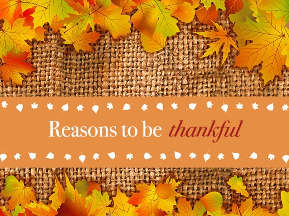 20 Simple Reasons to Be Thankful
