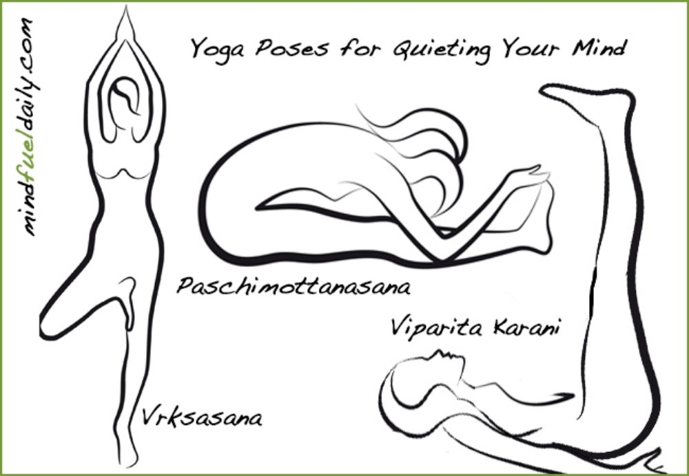 Three Yoga Poses for Quieting Your Mind
