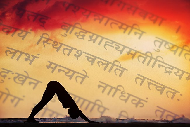 Why We Use Sanskrit in Yoga