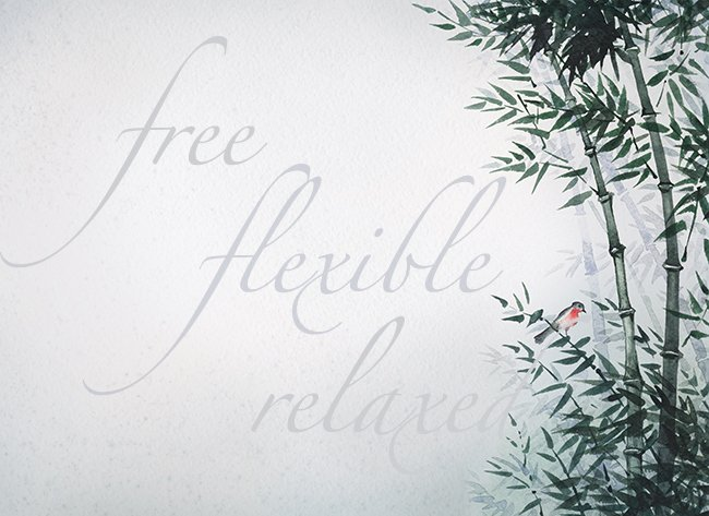 How to Live Flexible, Free, and Relaxed