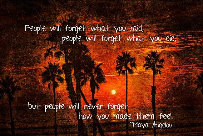 Inspiring Personality – Maya Angelou