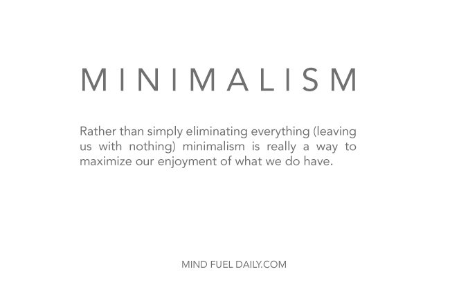 What is Minimalism? The Answer is Simple.