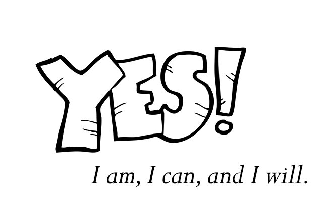 Living Positive – 3 Reasons to Say Yes to Yourself