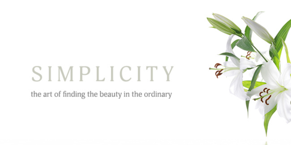 6 Thoughts on Simplicity
