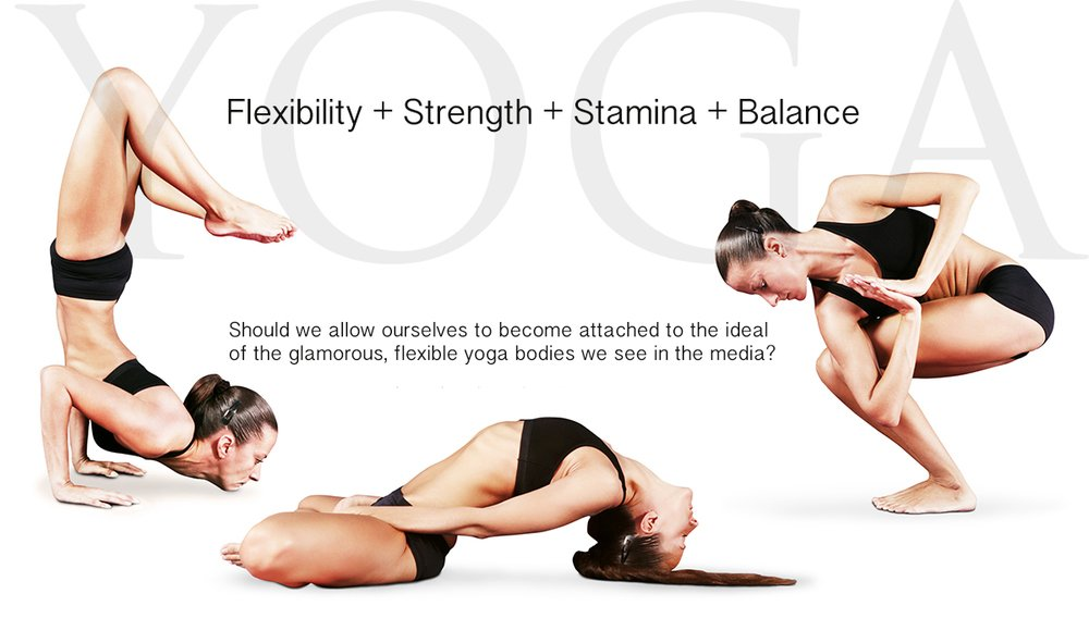 Yoga is more than flexible body positions