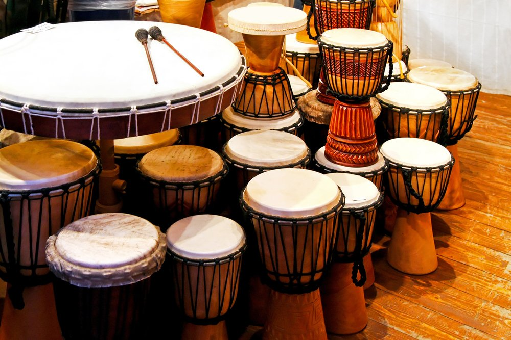 How Drumming Sets the Tone