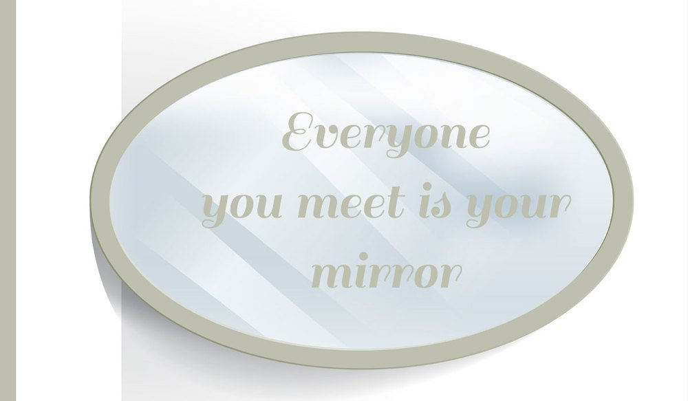 The World is a Mirror, So When You Judge Others, You're Judging Yourself